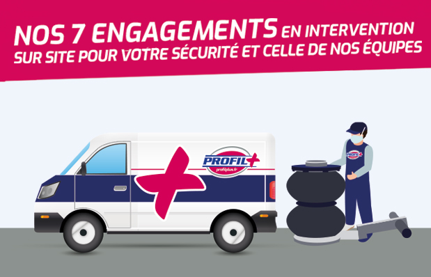 Nos engagements sur site