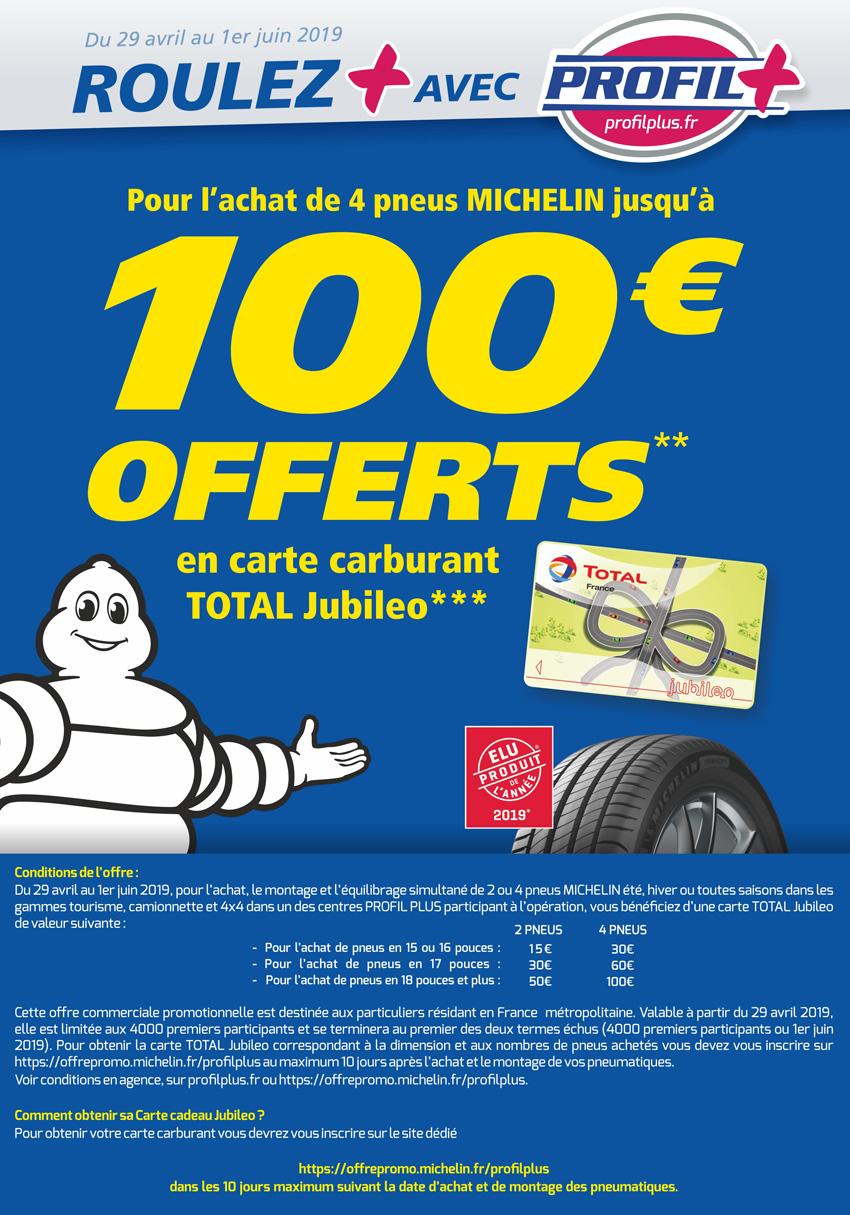 Offre promo Michelin