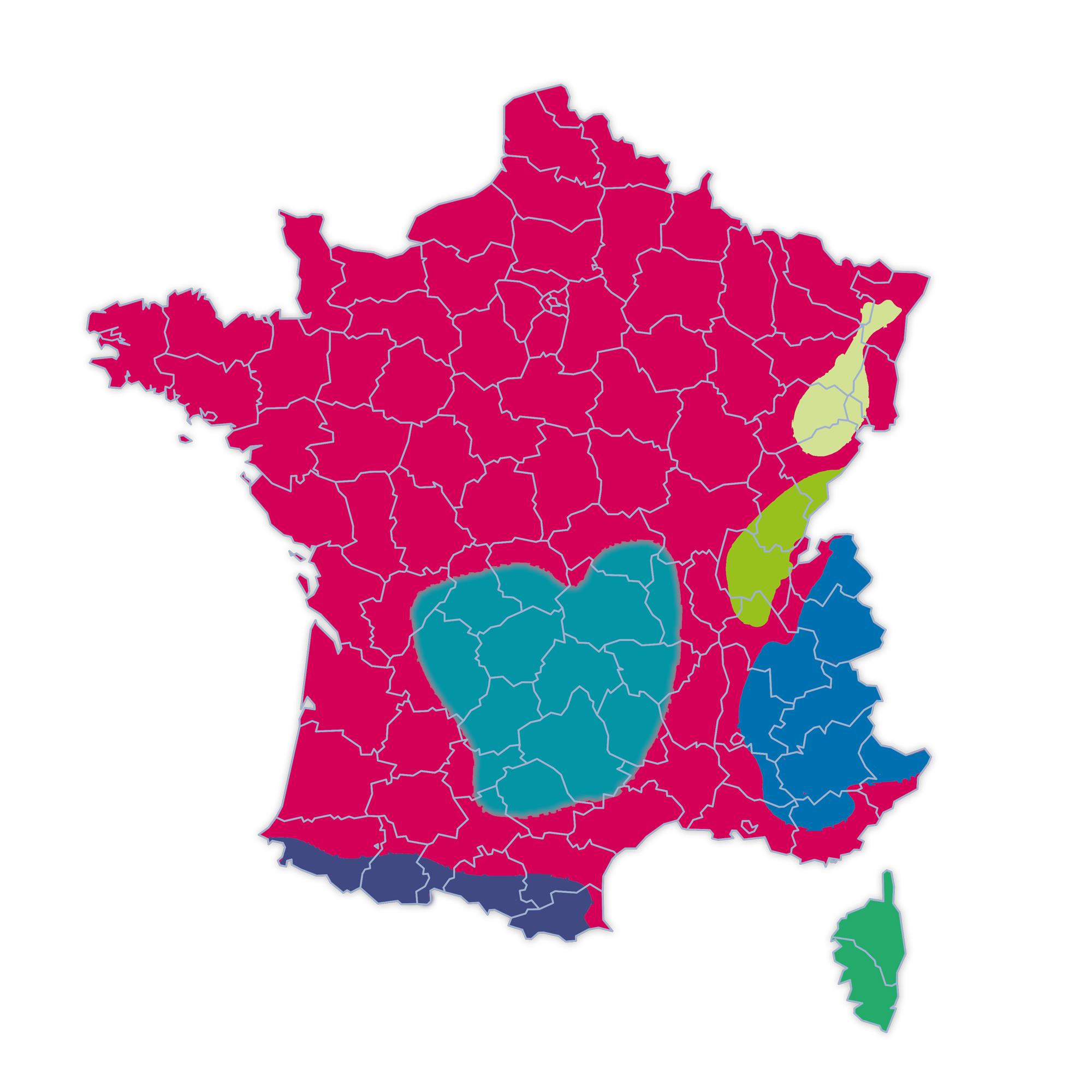 Loi montagne_48 départements français