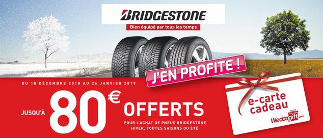 Bridgestone : Équipé par tous les temps