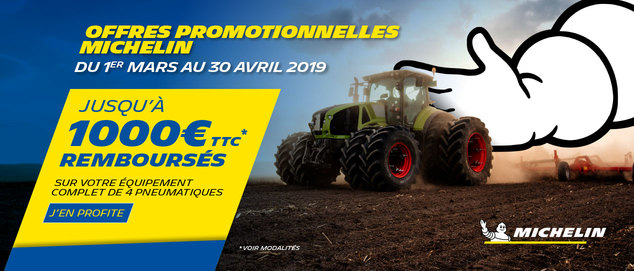 Michelin Sell Out Agraire