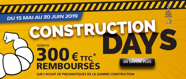 BtB PL Michelin : Construction DAYS