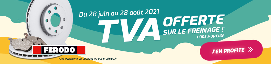 TVA Offerte freinage juin 2021