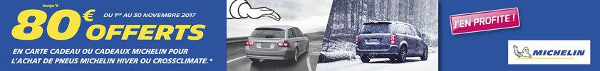 Équipez-vous et affrontez l'hiver ! (5€/pneu)