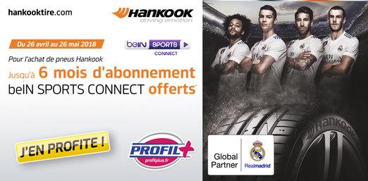 Hankook : Abonnement BeIn Sport Connect