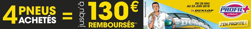 Promo Dunlop : Michel Vaillant
