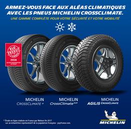 Vidéo promo Crossclimate Michelin