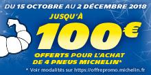 Michelin : Les offres musclées